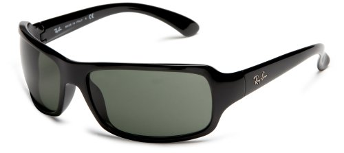 Ray-Ban Unisex RB4075 Sunglasses,Black Frame/G-15XLT Lens,61 mm