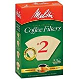 Cone Coffer Filter #2 - Natural Brown 100 Count