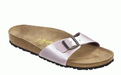 Cheap Birkenstock slippers Madrid in size 35.0 W EU made of Birko-Flor in Graceful Rosa with a regular insole (B005OI21UU)