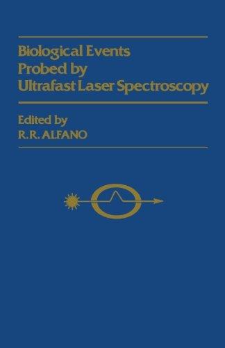 Biological Events Probed by Ultrafast Laser Spectroscopy