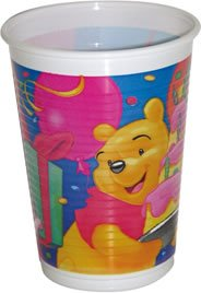 Partybecher Happy Birthday Winnie Puuh
