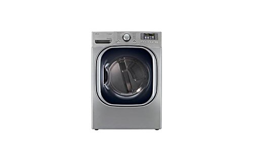 """27"""" Gas Dryer with 7.3 cu. ft. Capacity, 14 Dry Cycles, 11 Options, Steam Functions, Sensor Dry, Drying Rack and Dual LED Displa"""