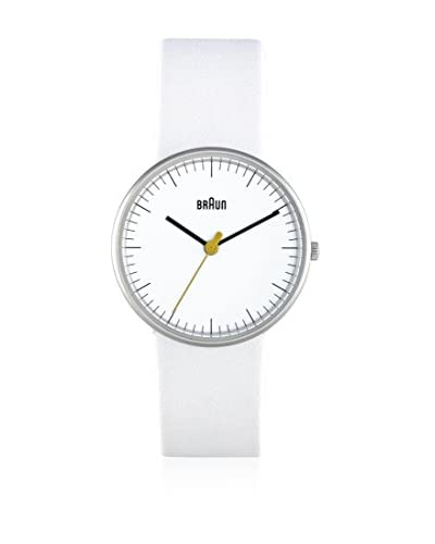 Braun Orologio al Quarzo Ladies Classic Watch Bianco 38  mm