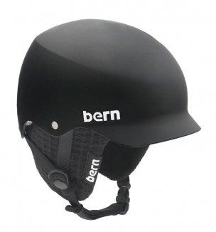 BERN BAKER Helm 2013 matte black, L