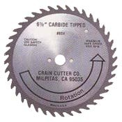 "Crain Cutter 804 6 1/2"" Wood Saw Blade w/ 5/8"" Arbor for 810 Supersaw"