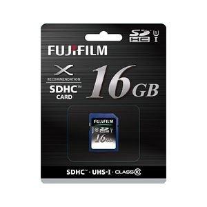 富士フイルム SDHC-016G-C10U1 UHS-I SDHCカード16GB