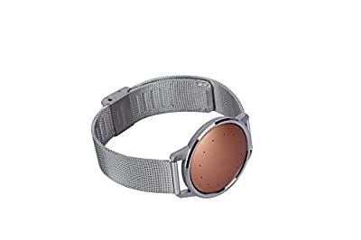 PluStore(TM) Adjustable Stainless Steel Replacement Mesh Watchband Smart Watch Wristband Wrist Strap Band for Misfit Shine 2- Activity and Sleep Monitor