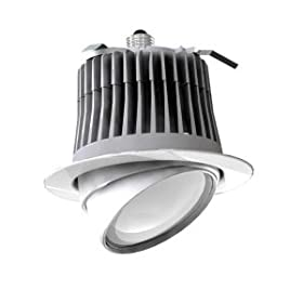 3500K Edison Base 6 Recessed Downlight Cree LR6C 120V Neutral Color