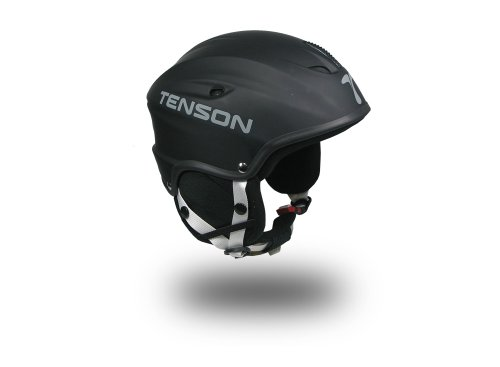 Tenson ultraleichter Ski- und Snowboardhelm, Größe 53/54 , schwarz