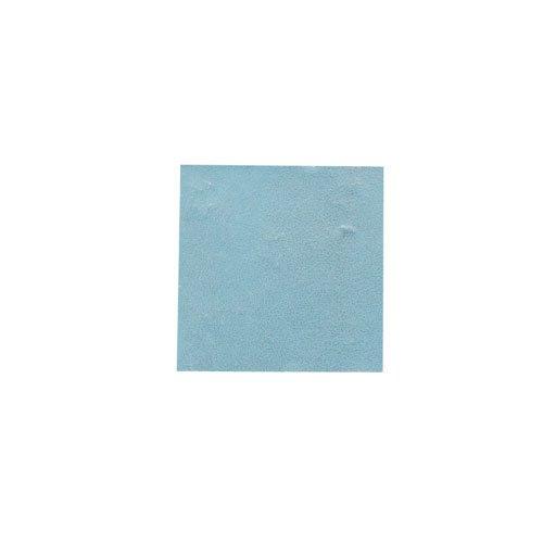 パステル銀箔 #647 パステルブルー 3.5㎜角×5枚