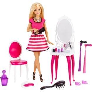 Barbie Glitz & Glam Doll & Vanity Dressing Table Playset als Weihnachtsgeschenk
