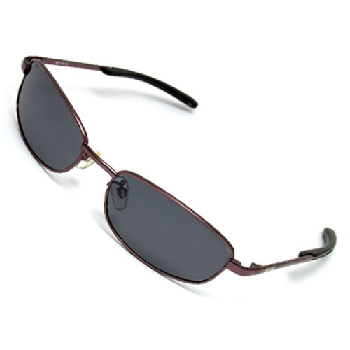 Como Fishing Driving Polarized Sports Sunglasses with Metal Frame and Slim Temple