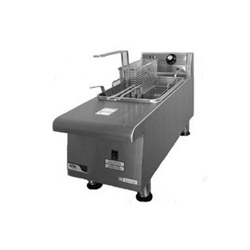 Apw Wyott Hef-15 Countertop Electric Fryer - (1) 15-Lb Vat, 208V/1Ph, Each