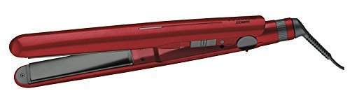 Infiniti Pro by Conair 1-Inch Double Titanium Ceramic Flat Iron, Red (Infiniti Pro 1 Titanium Flat Iron compare prices)