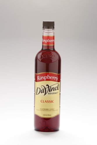 Da Vinci Gourmet Syrups Raspberry Syrup 750 ml Bottle