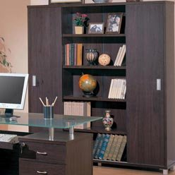 Glass Office Bookcase By Coaster Furniture back-936482