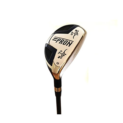 Japan Epron TR 18 deg Hybrid Golf Club + Leather Cover