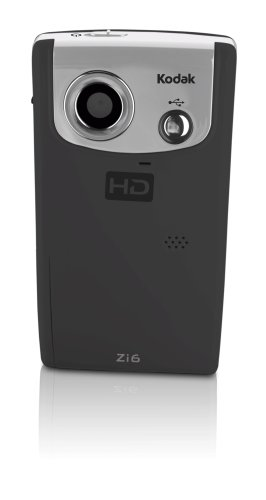 Kodak Zi6 Pocket Video Black Camera