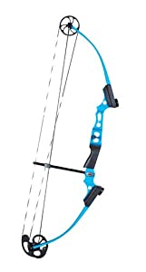 Genesis™ Mini LH Compound Bow, BLUE by Genesis