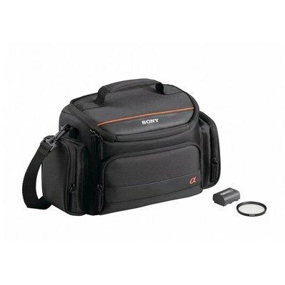 Sony ACCAMFH Accessory Kit for H Series Battery Digital SLR Cameras (Black)