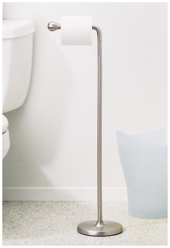 Umbra Teardrop Toilet Roll Stand- Nickel