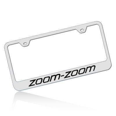 Mazda Zoom-Zoom License Plate Frame (Miata License Plate Frame compare prices)