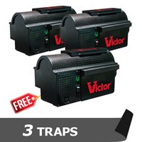 Victor Multi-Kill Electronic Mouse Trap - 3 Pack