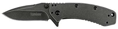 Kershaw 1555BW Cryo Folding Knife with Blackwash SpeedSafe by Kershaw :: Combat Knife :: Tactical Knife :: Hunting Knife :: Fixed Blade Knife :: Folding Blade Knife
