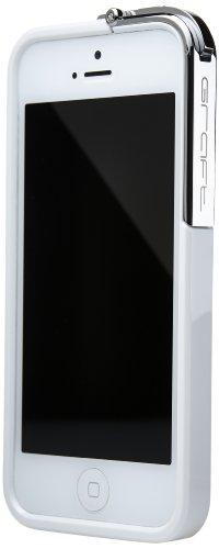 buy Graft Concepts Leverage I5 Case For The Iphone 5 - Retail Packaging - White With Chrome Latch
