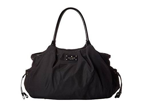 Kate Spade New York Union Square Stevie Baby Diaper Bag, Black