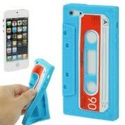 Tape Shape Silicon Case for iPhone 5 (Blue)