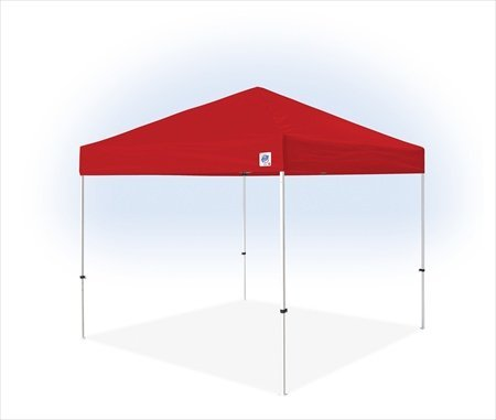 E-Z UP PR9104RD Pyramid II Instant Shelter, 10 by 10-Inch, Red