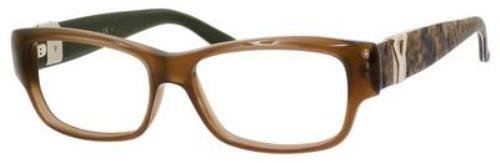 Yves Saint Laurent Yves Saint Laurent 6383 Eyeglasses-0SK9 Brown/Beige-52mm