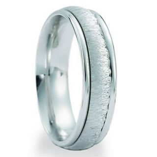 4.00 Millimeters Palladium 950 Wedding Band Ring Contemporary Design, Comfort Fit Style RB34-306PD, Finger Size 6½