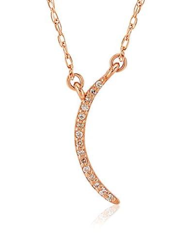 Divas Diamond Conjunto de cadena y colgante Diamond Gold