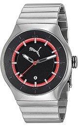 Puma Active - Silver Steel Men's watch #PU102551003