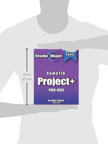 Study Blast CompTIA Project+ Exam Study Guide: PK0-003