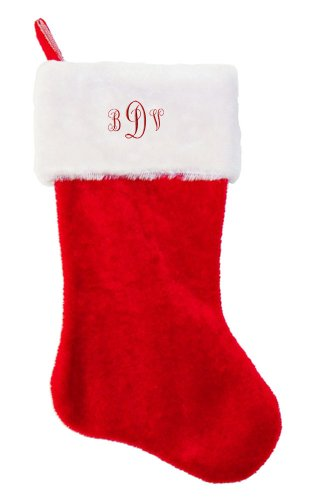 letters-bdv-embroidered-personalized-monogram-on-red-plush-christmas-stocking