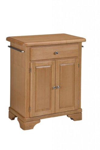 Cheap Kitchen Cart with Wood Top in Maple Finish (VF_HY-9003-0091)