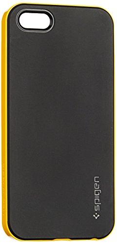 SPIGEN SGP 国内正規品 iPhone5/5S ケース ネオ・ハイブリッド [レベントン・イエロー]SGP10364