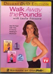 Leslie Sansone - Walk Away the Pounds 1 & 2 Mile DVD Region 2