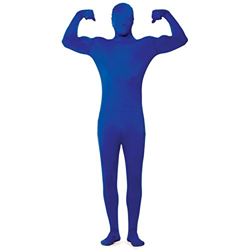 Disappearing Blue Morph Suit Invisible Man Size:Teen