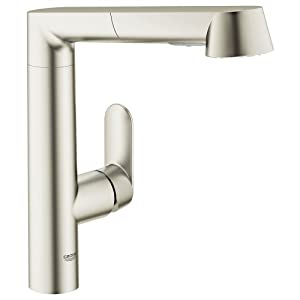 Grohe 32178DC0 K7 Pull-out Spray head Kitchen Faucet