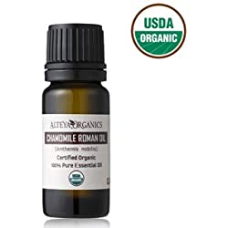 Certified Organic Roman Chamomile Essential Oil - Therapeutic Grade 5ml