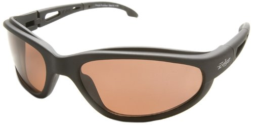 Edge Eyewear TSM215 Dakura Polarized Safety Glasses, Black with Copper