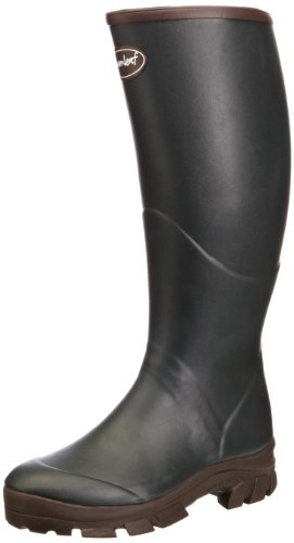 Gumleaf Unisex-Adult Saxon Wellington Boots W1 Dark Green 12 UK, 47 EU