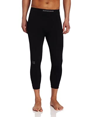 Zensah Recovery Capris - 3/4 Compression Tights for Running, Working Out, Basketball from ZENEO