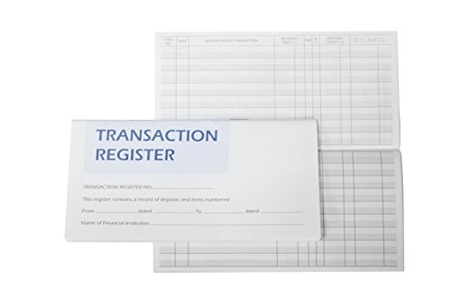 10 Checkbook Registers 2016-2017-2018 Calendars (Check Book Transaction Register compare prices)