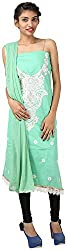 Hardy's Style Women's Cotton Dress Material (HS-42, Pista Green)