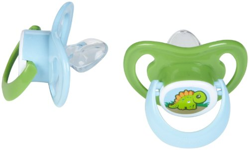 Playtex Ortho Pro Silicone Pacifier - 0-6 Months - 2 Pk - Boy